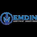 Emdin Support Services logo (square)
